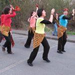 Carnaval de Pellouailles-les-vignes : l'atelier de danse africaine, Maine-et-Loire, Angers