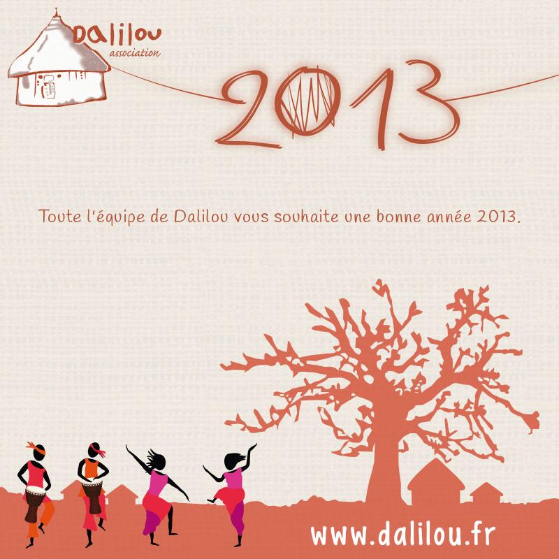 Bonne année, association Dalilou, Musiques, Danses et Chants Mandingues : Afrique Occidentale