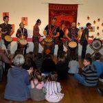 Animation percussions africaines, Mainet-et-Loire, djembé