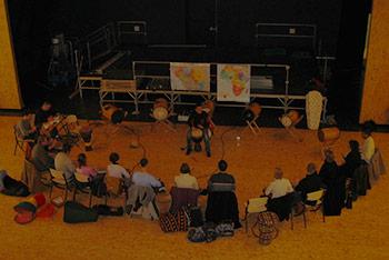 <h3>Stage de percussions africaines à Angers, Maine-et-Loire