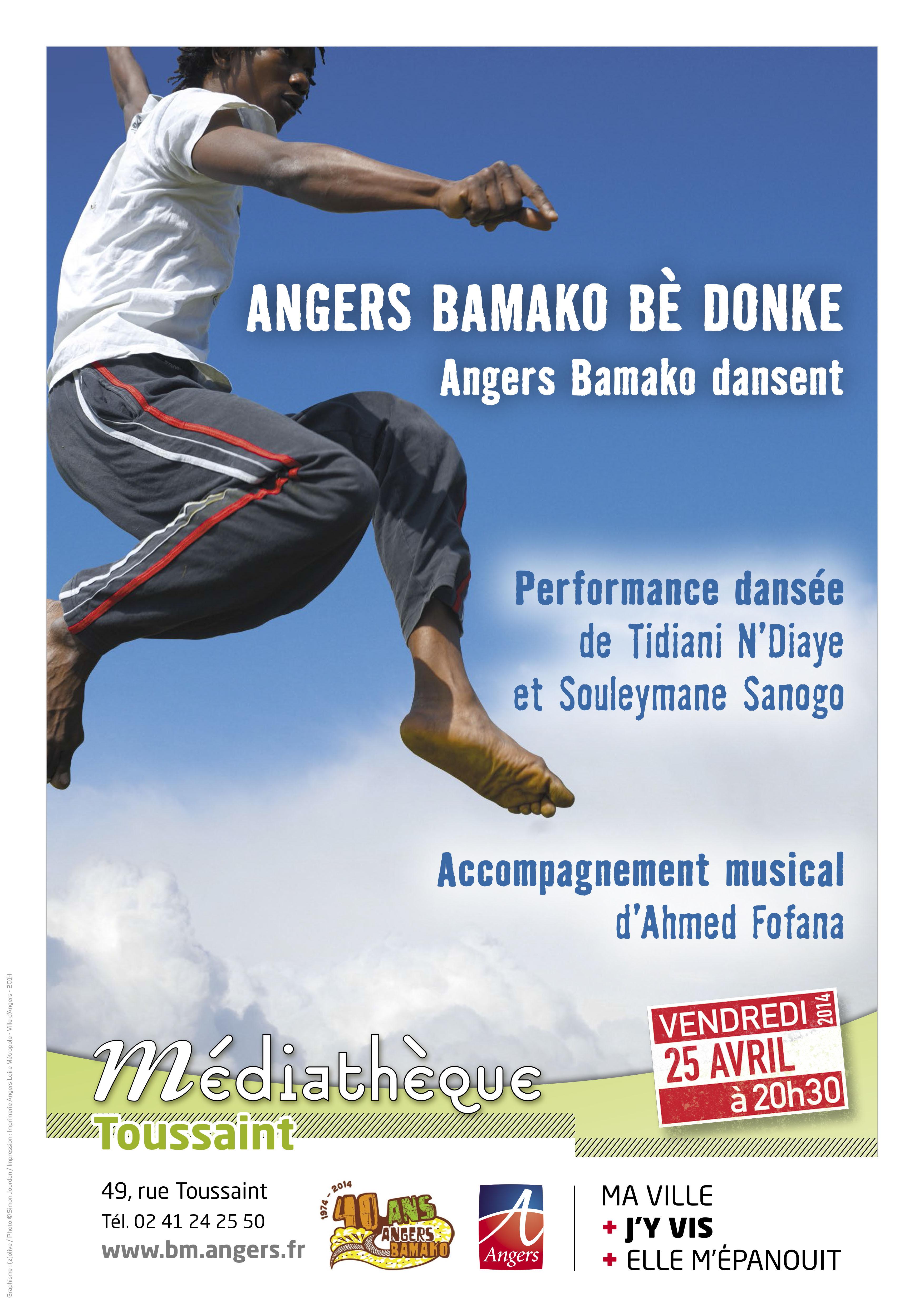 ANGERS BAMAKO BÈ DONKE
