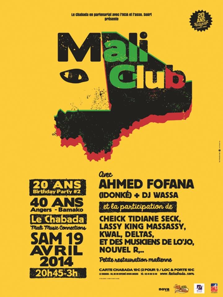 Mali Club au Chabada, à Angers