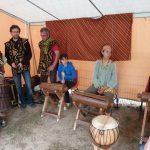 Percussions africaines à Brain-sur-l'Authion, Maine-et-Loire