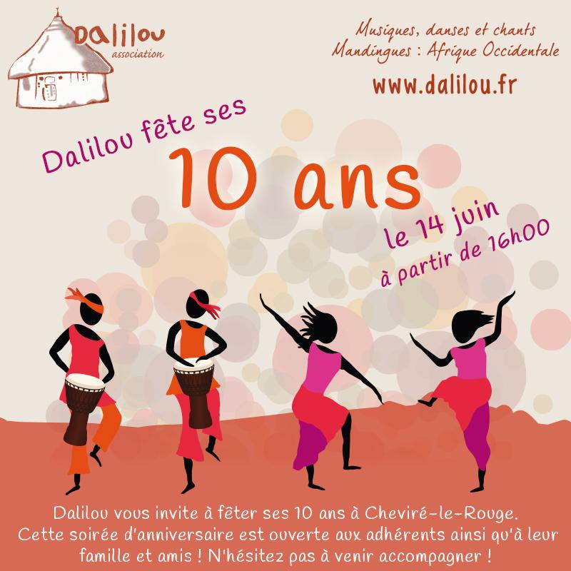 Soirée Mandingue : les 10 ans de Dalilou !