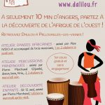 Inscription aux cours de percussions et de danses africaines, Angers, Maine-et-Loire