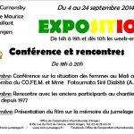 Manifestations organisées par l'OCIA, à Angers