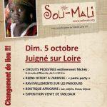 Randonnée Soli-Mali le 5 octobre à Juigné-sur-Loire, Maine-et-Loire
