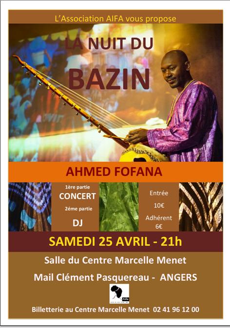 La Nuit du Bazin 2015 à Angers, Maine-et-Loire