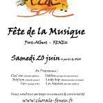 Animation percussions pour la fête de la musique à Feneu, Maine-et-Loire