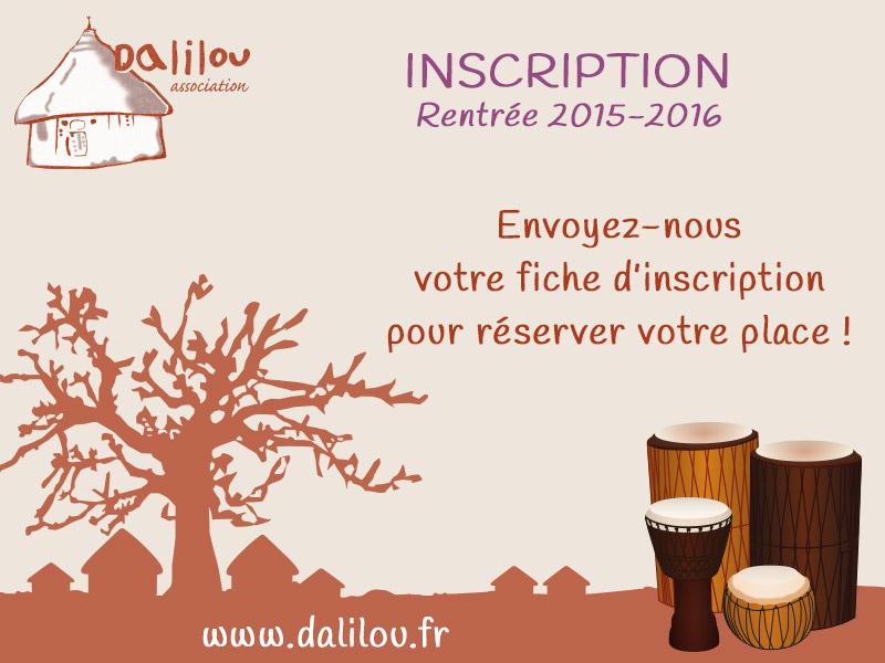 Les inscriptions aux ateliers de danse africaine et de percussions sont ouvertes !