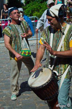 Le Collectif Dalilou, Groupe de percussions près d'Angers