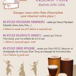 Permanence d'inscription aux Ateliers Percussions et danse africaine