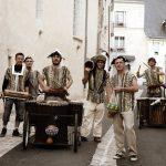 Le Collectif Dalilou : Prestation musicale à Baugé, Maine-et-Loire. Percussions Mandingues à Angers