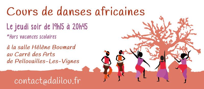 Cours danse africaine, près d'Angers, Maine-et-Loire