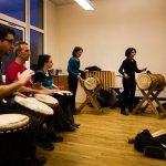 Cours de percussions africaine près d'Angers