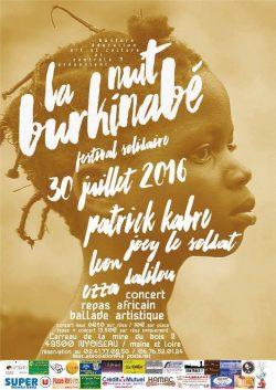 La Nuit Burkinabé 2016 à Nyoiseau, Maine-et-Loire