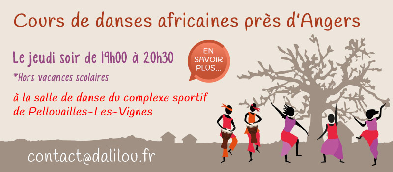 Cours danse africaine Angers