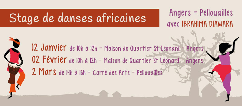 Stage de danse africaine Angers