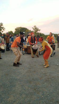 Groupe de percussions : le collectif Dalilou
